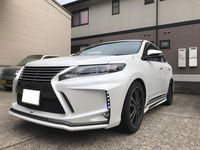 トヨタ ハリアー プレミアム オートクルーズ アイドリングストップ LED