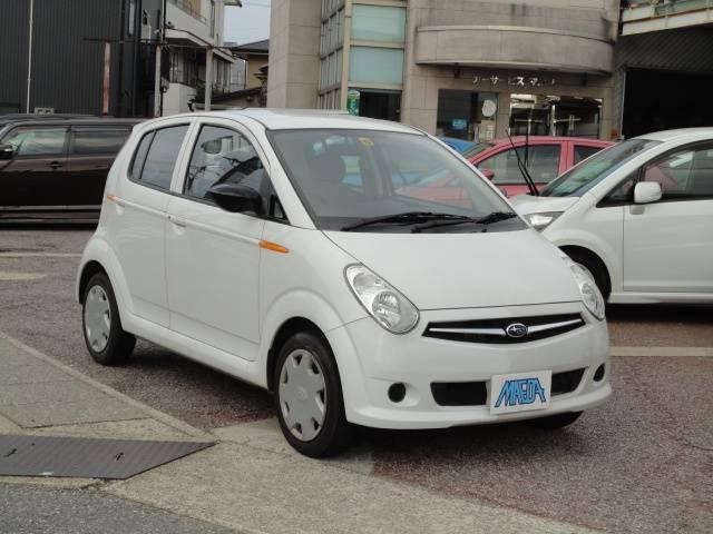 スバル F 禁煙車 CVTオートマ CD ABS