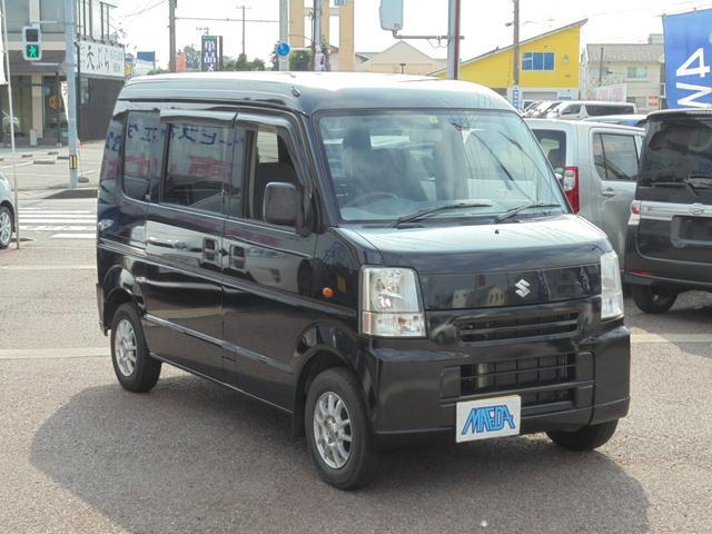 スズキ PC 4WD パワーウインド アルミ 車検令和3年7月 黒