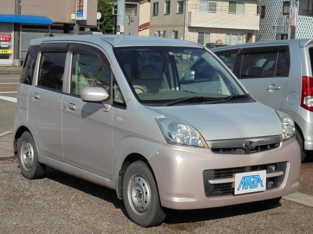 スバル L 4WD CD キーレス ライトピンク 桃 試乗大歓迎