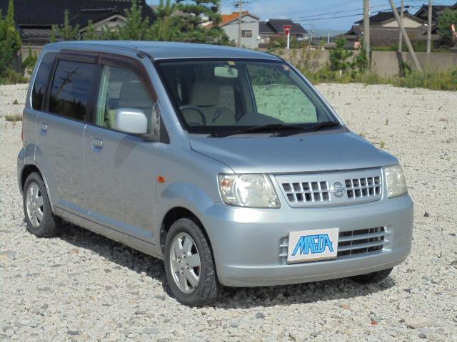 日産 E FOUR 4WD 禁煙車 4速オートマ ABS CD