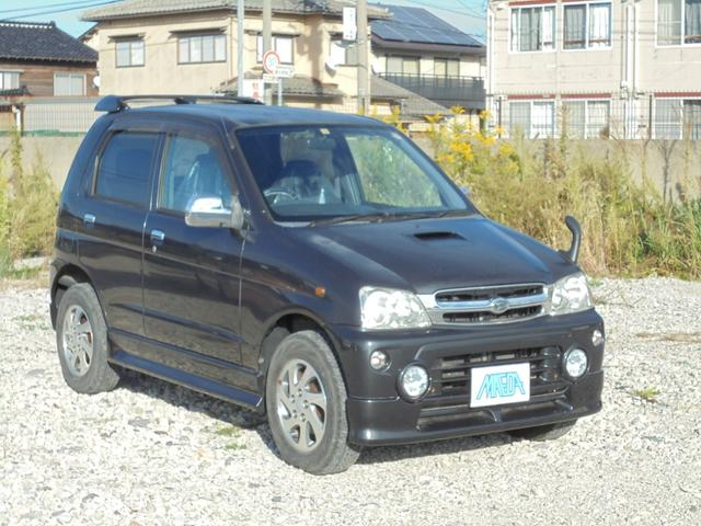 ダイハツ カスタムX 4WD ターボ 禁煙車 キーレス CD