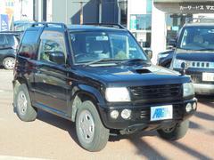 パジェロミニアニバーサリーリミテッド−V 4WD ターボ アルミ 色替黒