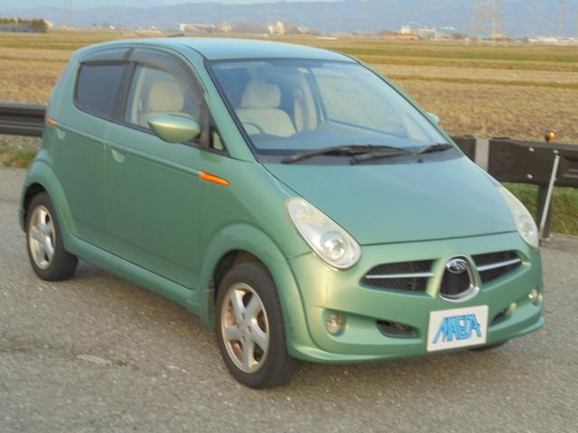 スバル R 4WD 禁煙車 キーレス スバル グリーン 緑