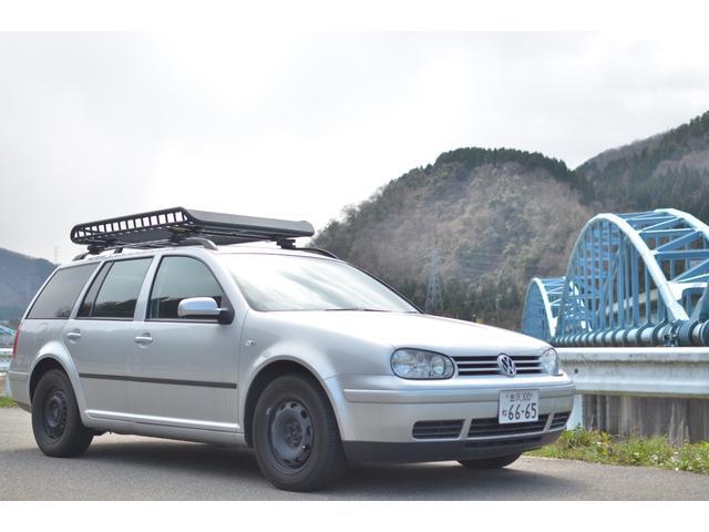 フォルクスワーゲン E 2.3万km アルミ製ルーフラック 東京都内ワンオーナ車