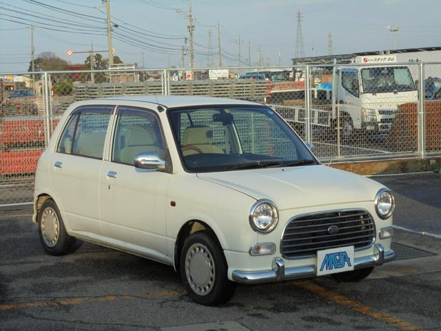 ダイハツ ジーノ 4WD  キーレス タイミングベルト交換済み 白