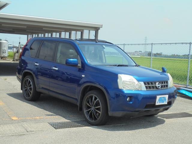 20X 4WD サンルーフ 社外19インチアルミ オートライト インテリジェントキー タイミングチェーン 内外装三ッ星