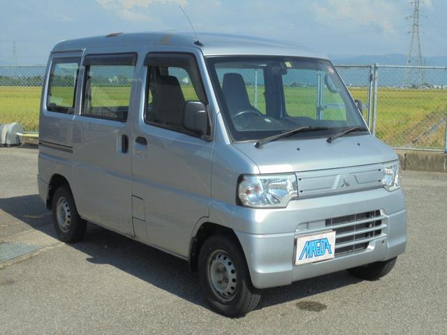 三菱 ミニキャブバン CD 4WD フロア5速 切り替え式4WD