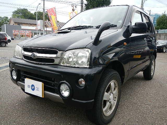 ダイハツ L ターボ 4WD 社外CD付