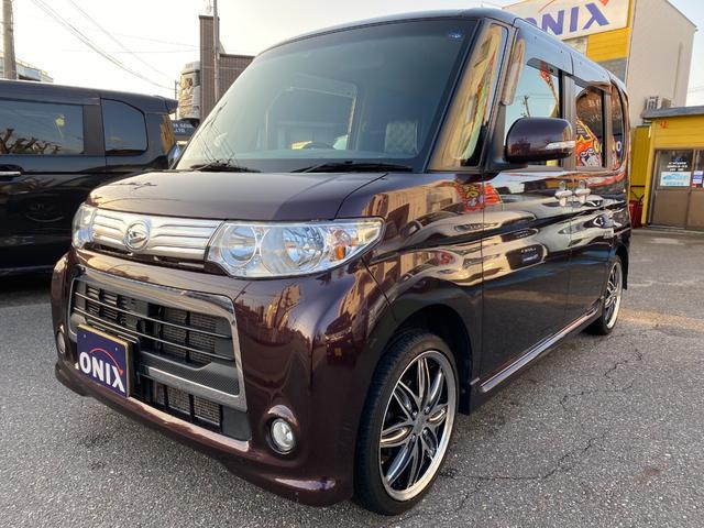 ダイハツ カスタムX ナビ・地デジ・16インチ・シートカバー・ドラレコ・ETC・LEDルーム球・オートワイパー・オートライト・スタッドレス純正アルミ別付属 4WD