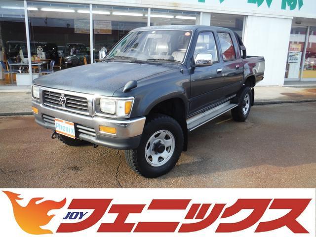 トヨタ ダブルキャブ SSR-X ワンオーナーパートタイム4WD