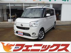 ムーヴキャンバスGメイクアップ SAIII届出済未使用車4WD両側パワスラ