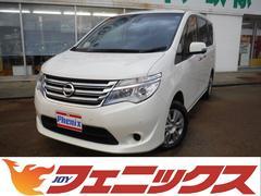 セレナ20X Vセレクション+セーフティ 4WD 純正メモリーナビ