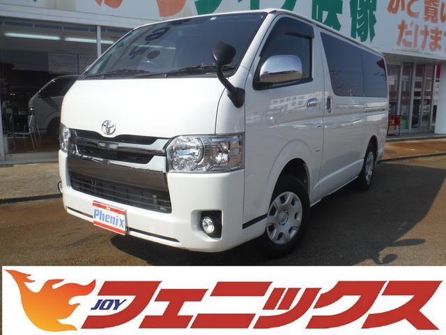 トヨタ スーパーGL ダークプライム 4WDトヨタセーフティ純正ナビ