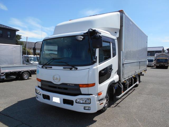 UDトラックス ワイド アルミウイング 6.2M 日本フルハーフ製
