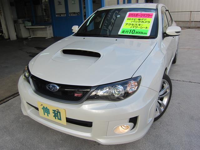 スバル WRX STI Aライン STIスポーツマフラー ナビ/TV