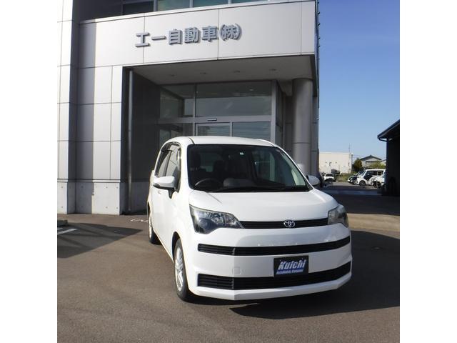 トヨタ スペイド X 電動スライドドア メモリーナビ フルセグ Bluetooth接続 スマートキー ウォークスルー 電動格納ミラー 衝突安全ボディ