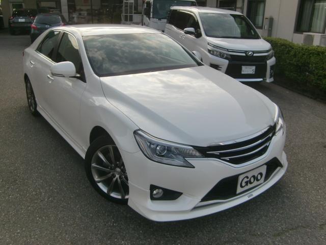 トヨタ 250G Sパッケージ モデリスタエアロ 純正ナビ地デジ