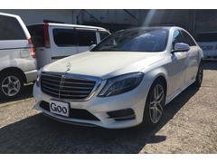 M・ベンツS400h HDDナビフルセグTV 本革 サンルーフ