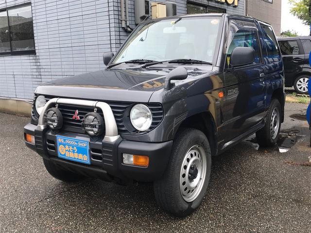 三菱 XR-II 4WD 5速マニュアル 背面タイヤ
