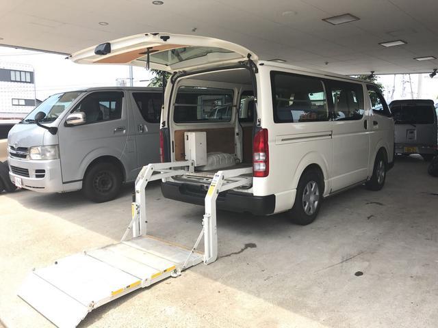 トヨタ ロングDX 4WD パワーゲート付 ディーゼル発電機
