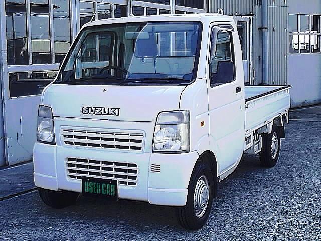 スズキ KU 4WD エアコン パワステ 三方開