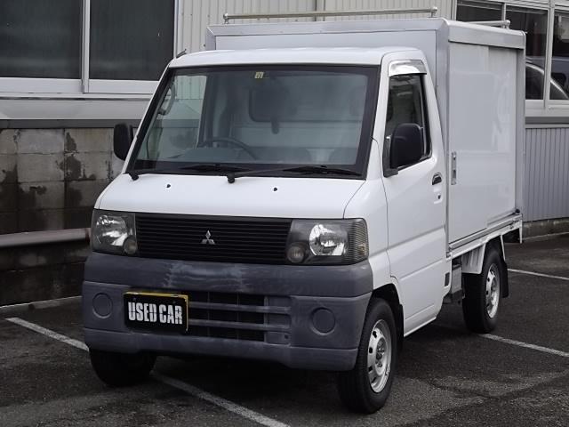 三菱 パネルバン 保冷車 4WD エアコン オートマチック