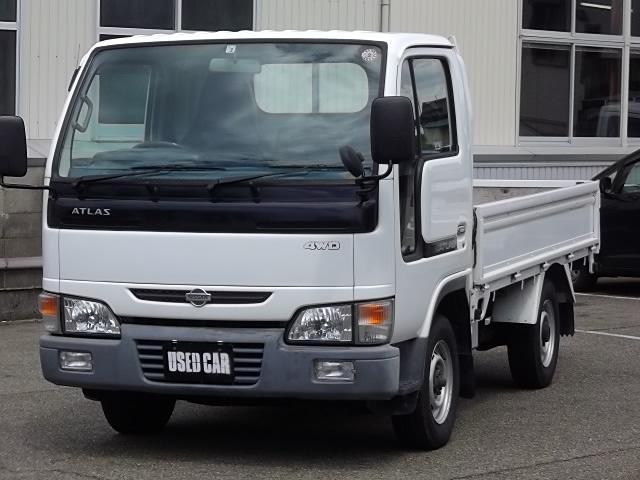 日産 4WD ディーゼル 1000kg積 三方開