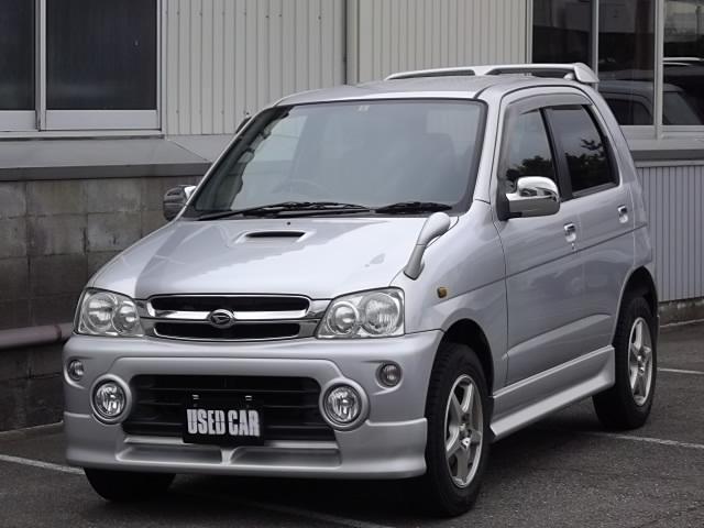 ダイハツ カスタムX 2WD ターボ キーレス ABS CDMD