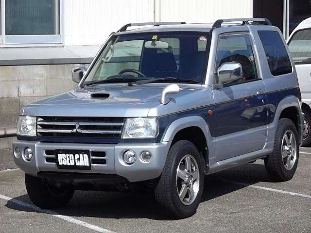 三菱 パジェロミニ リミテッドエディションVR 4WD インタークーラーターボ ABS Wエアバック 純正アルミ CD DVD再生