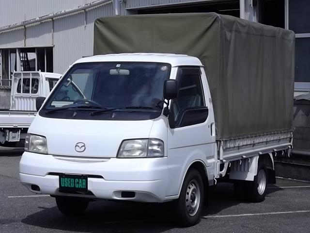 マツダ ボンゴトラック DX ディーゼル 1000kg積 幌仕様 エアコン パワーステアリング