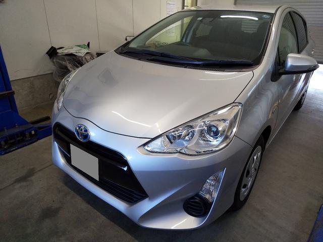 「トヨタ」「アクア」「コンパクトカー」「石川県」の中古車