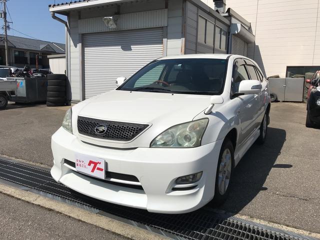 トヨタ 240G アルカンターラバージョン純正HDDナビ CD MD
