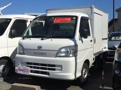 ハイゼットトラック冷凍冷蔵車 タイミングベルト交換済み 5MT フジボディー