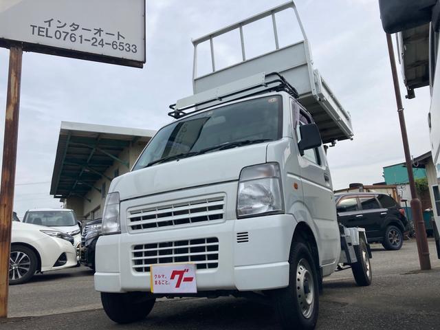 スズキ  リフトピックダンプ 4WD 5速マニュアル
