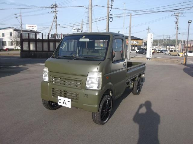 スズキ 大阪府限定車エアコン・パワステ 4WD 2インチリフトUP