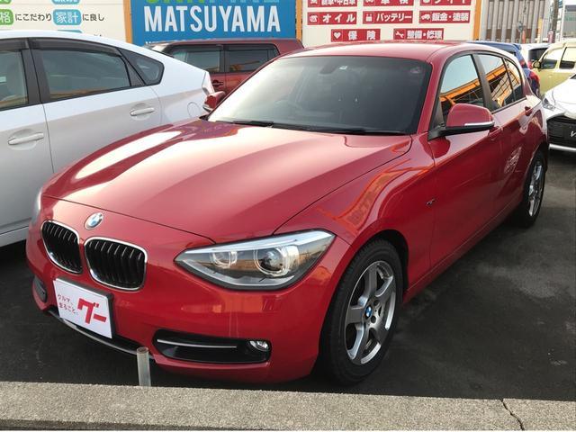 BMW 1シリーズ 116i スポーツ 純正HDDナビ キーレスプッシュスタート