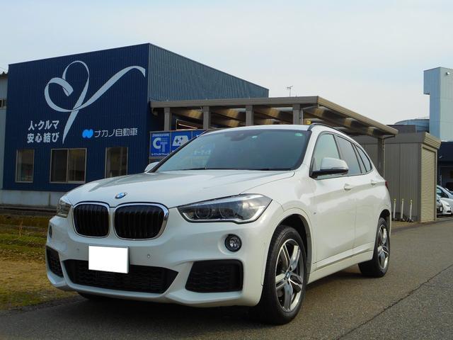 BMW X1 sDrive 18i Mスポーツ 純正ナビ バックカメラ 地デジチューナー走行中視聴可能 前後ソナー LEDヘッドライト ミラーETC 1500CCツインターボ 136馬力