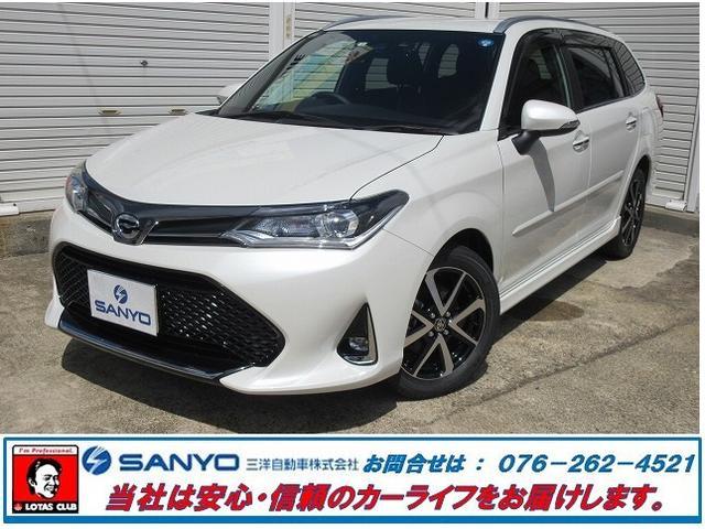 トヨタ 1.5G W×B登録済未使用車地デジナビBカメETCドラレコ