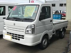 キャリイトラックKC 4WD 5F エアコン パワステ 荷台マット