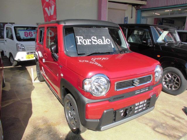 スズキ ハスラー ハイブリッドG 4WD セフティーサポート