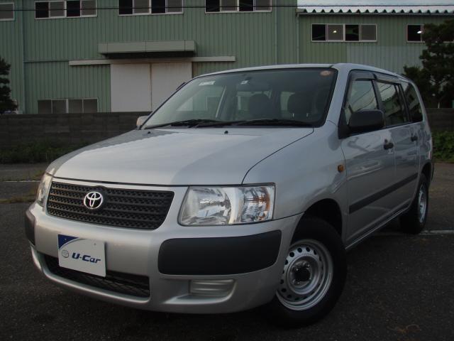 トヨタ UL 大容量荷台 ETC オーディオ 4WD 銀色 ワゴン