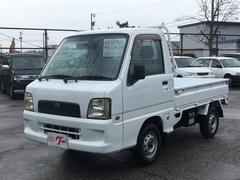 サンバートラックTB 5MT 4WD エアコン パワステ 三方開