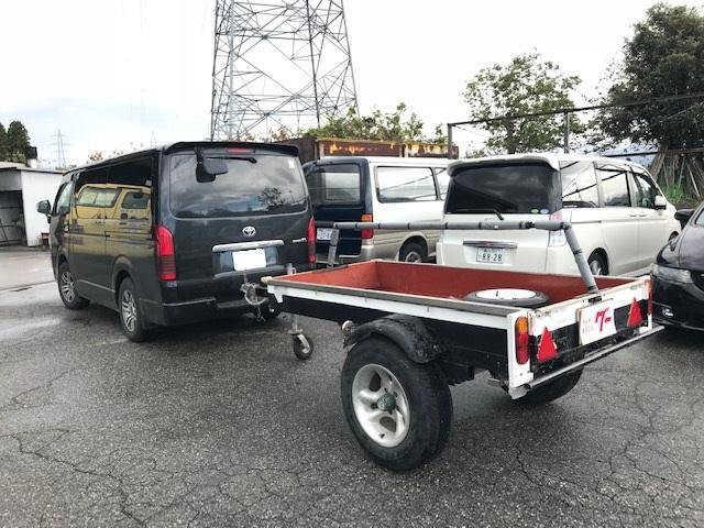 日本その他 ロードライト製 フルトレーラ ヒッチメンバー付き