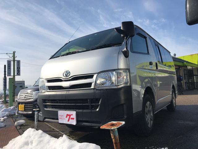 トヨタ ロングDX 4WD フルセグナビ バックカメラ ETC付き