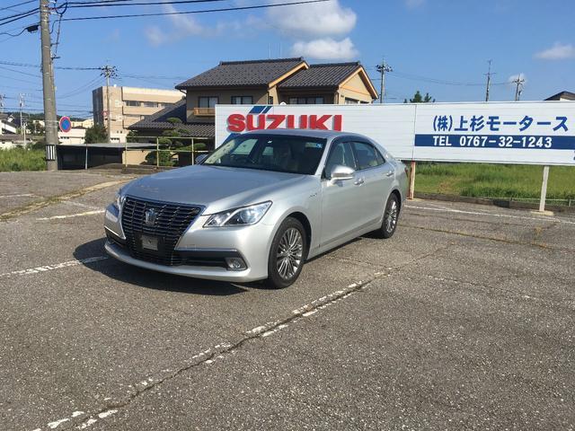 「トヨタ」「クラウンハイブリッド」「セダン」「石川県」の中古車