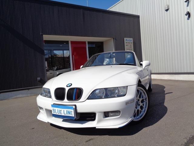 BMW 2.2i 青レザーシート HDDナビ 1オーナー 記録簿