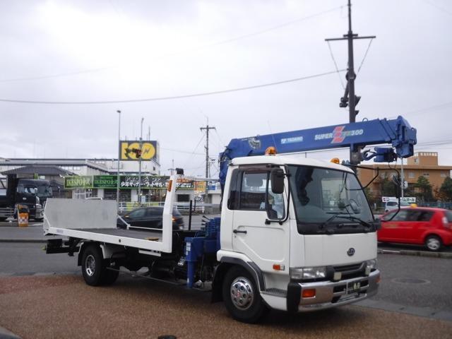 日産ディーゼル 積載車 TADANOクレーン ラジコン セルフローダ