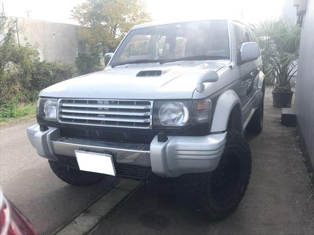 三菱 ワイド エクシード-I 4WD 本革 サンルーフ