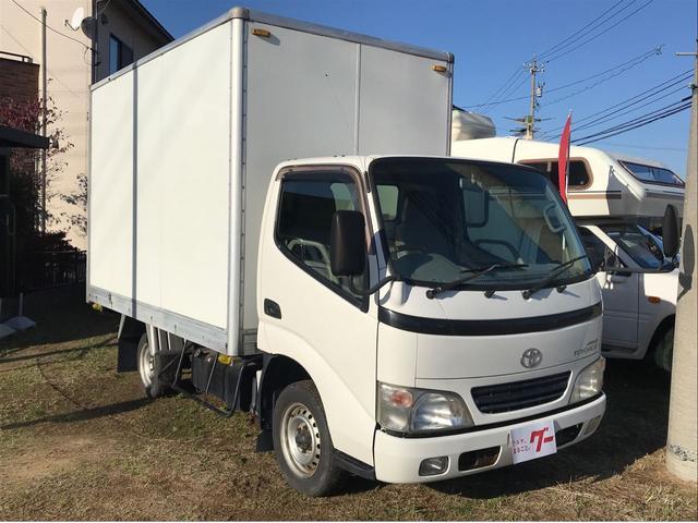 トヨタ ダイナトラック 4WD 積載800kg パネルバン ラッシングレール ETC